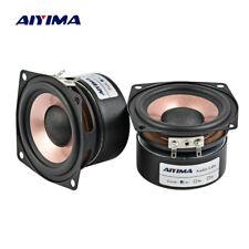 AIYIMA 2PC 2.5Inch Audio Speaker 4Ohm 8Ohm 8-15W HIFI Full Range Loudspeaker