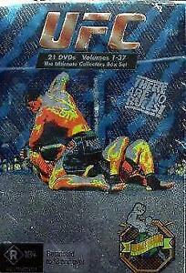 Ultimate Fighting Championship Volume 1-37 - UFC DVD Brand New & Sealed