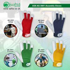 Ladies / Mens Leather Gardening Gloves Thorn Proof Garden work gloves Assembly