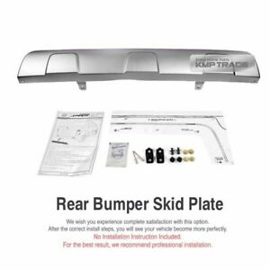 OEM Rear Bumper Skid Plate Diffuser Chrome for SSANGYONG 2014 - 16 Actyon Sports