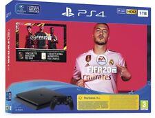 Sony Playstation 4 PS4 1TB F Slim HDR + Fifa 20 Console+Gioco Nuovo Originale