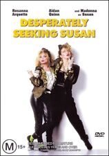 DESPERATELY SEEKING SUSAN (MADONNA Rosanna ARQUETTE Aidan QUINN) DVD Region 4