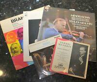 Menuhin violin  trio ASD 2809 2285 YKM 5012    HEAR  playing minty freebie EPs