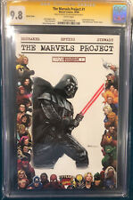 DAVE DORMAN ORIGINAL DARTH VADER STAR WARS Sketch Art CGC 9.8 Signed Comic Art