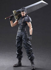 Square Enix Play Arts Kai Final Fantasy Crisis Core Zack Action Figure no box