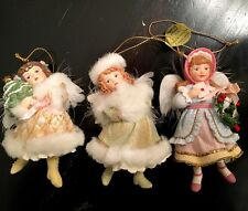 Ashton Drake Collectible Christmas angel ornaments 93071