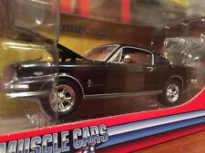 Johnny Lightning 1:24 1965 Ford Mustang Fastback In Black It51105l