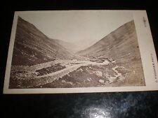 Cdv old photograph Kirkstone Pass by Abraham at keswick c1870s