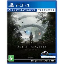 PS4 Robinson The Journey VR required PlayStation 4 game new sealed box