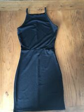 Pretty Little Thing Cut Out Waist Bodycon Dress Size 8