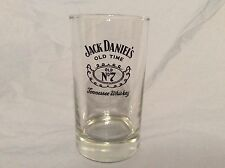 Vintage Highball Glass JACK DANIELS Old Time No. 7 Tennessee Whiskey D
