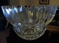 "Mikasa Lead Crystal Ice Palace bowl, 10"", new without original box."