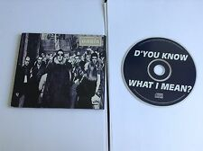 OASIS - D'You Know What I Mean? UK 4 Track Cd Single