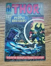 The Mighty Thor #134 1st. High Evolutionary Man-Beast Marvel 1967   FN??