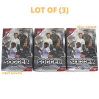 LOT (3) 2021 Topps Major League Soccer MLS Trading Card Blaster Boxes NEW/SEALED