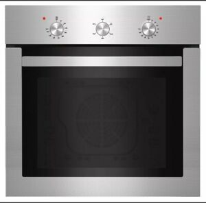 """Empava 24"""" Electric Single Wall Oven Stainless Steel Built-in Knobs Control #A01"""