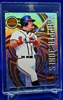 CHIPPER JONES REVOLUTION SPARKLE REFRACTOR ATLANTA BRAVES LEGEND HOF SP