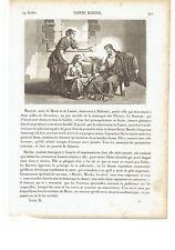 """1825 Santa Marta di Betania 29 Luglio Patrona dei Cuochi Osti... """"Sainte Marthe"""""""