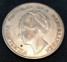1929 Nederland 1G Silver coin, (plus FREE 1 coin) #D029
