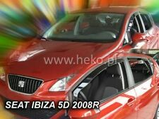 SEAT Ibiza IV  2008 - 2017  5.doors  Wind deflectors 4.pc set HEKO 28234