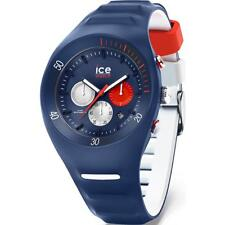 Mens Wristwatch ICE WATCH LECLERCQ IC.014949 Chrono Silicone Blue White 100mt