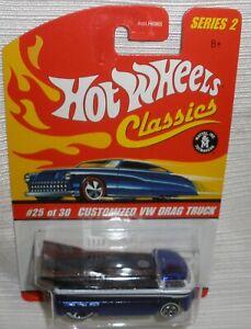 Hot Wheels Customized VW drag truck Blue
