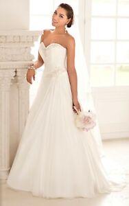 Wedding Dress UK Stock Size 18