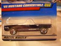 Hot Wheels '65 Mustang Convertible #455!! Blue