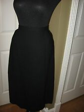 J H COLLECTIBLES,Skirt, New ,Solid Black,Straight,Fully lined, 16,L