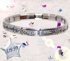 JSC Italian Charms Starter Bracelet BRIDESMAID GIFT
