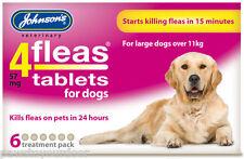 Johnsons 4fleas comprimés grand chien 6 paquet traitement contre les puces