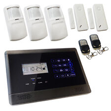Wireless House Alarm GSM Touch Screen Intruder Burglar Sentry Pro Solution 2