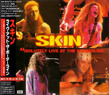 SKIN Absolutely Live At The Borderline +1 RARE JAPAN ONLY CD OBI TOCP-8597