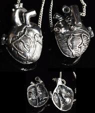 Halskette Medaillon Mechanisches Herz Gothic Steampunk Locket Necklace Kette WGT