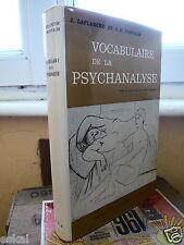 Laplanche Jean et Pontalis J.-B. Vocabulaire de La Psychanalyse