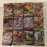 Pokemon Card Lot 100 OFFICIAL TCG Cards Ultra Rare Included - GX, V, Promo, FA.