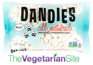 Dandies Minis Marshmallows | FREE SHIPPING | vegan, vegetarian gift 7/16/2021