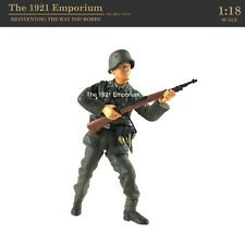 ✙ 1:18 Scale Dragon Models Action 18 Series WWII German Army Infantryman Figure