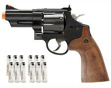 "Umarex S&W M29 3"" Metal Revolver Electroplated Short Barrel Airsoft Pistol"