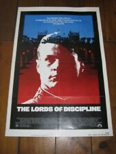 THE LORDS OF DISCIPLINE Original  Poster - 27 X 41
