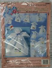 Bucilla Keepsake Littlest Angels Flower of the Month 33260 Gallery of Stitches
