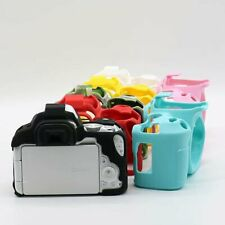 Soft Rubber Silicone Case Camera Case Protective Body Cover For Canon EOS 200D