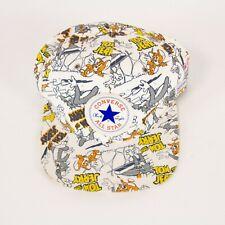 Converse All Star Tom Jerry Warner Bros White Snapback Baseball Cap Hat
