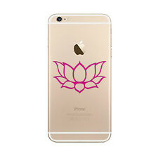Lotus Flower Sticker Die Cut Decal for mobile cell phone Smartphone Cup Decor
