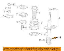 TOYOTA OEM Front-Steering  Knuckle Spindle Bolt 9008010335