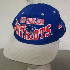NEW ENGLAND PATRIOTS youth football hat embroidered logo NFL snapback cap
