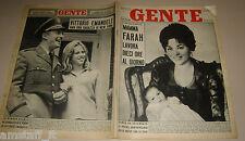 GENTE 1960/53=FARAH DIBA=REZA CIRO PAHLAVI=BRADFORD DILLMAN=BRUNO CASSINARI=