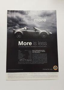Lotus Elise Advert from 2007 - Original