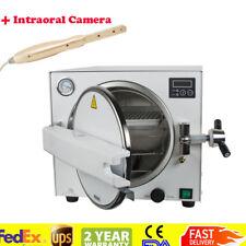 18L 900W Medical Dental Tattoo Steam Sterilizer Autoclave Pressure Lab Equipment