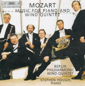 MOZART quintet piano & wind S HOUGH Berlin Phil  & rare wind music